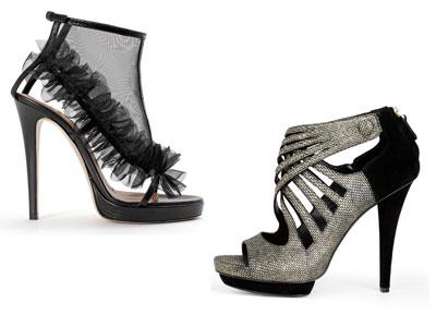 Модные ботильоны и туфли 2012