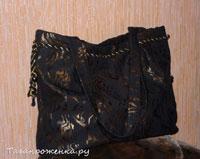 Мастер-класс по пошиву женской сумки.